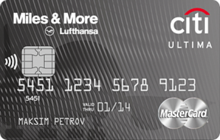 Citi Ultima Miles & More