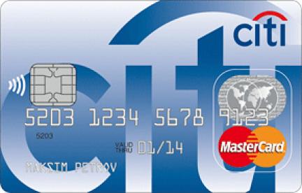 Citibank Mastercard